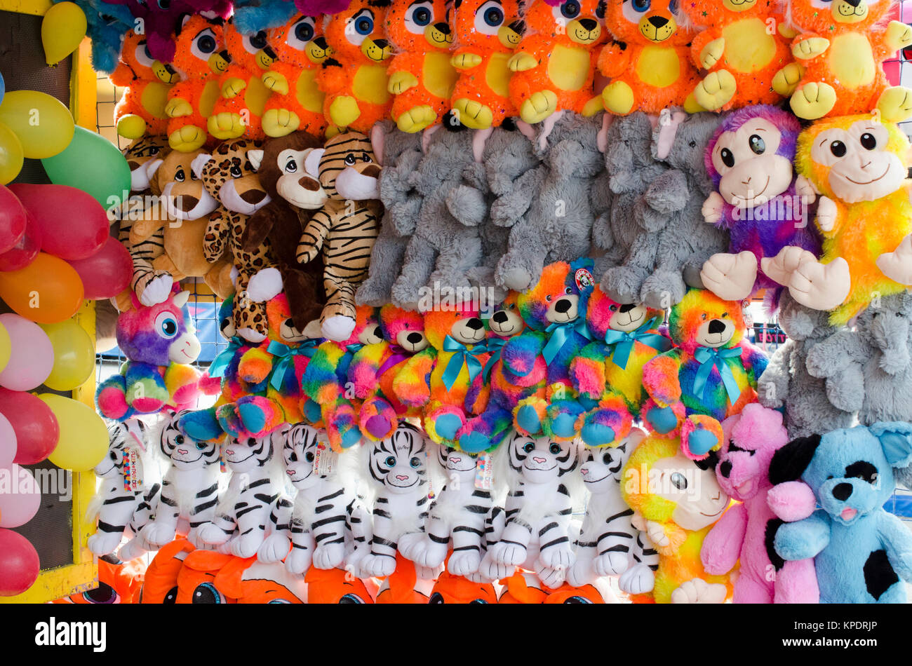Carnival Prizes Stock Photo 168719678 Alamy