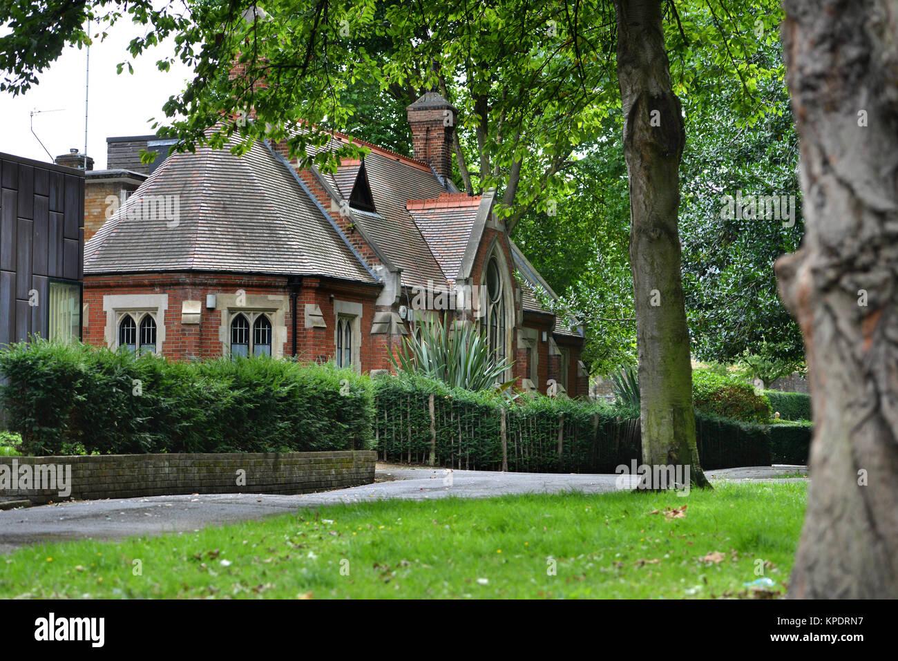 St Pancras Coroner's Court, London - Stock Image
