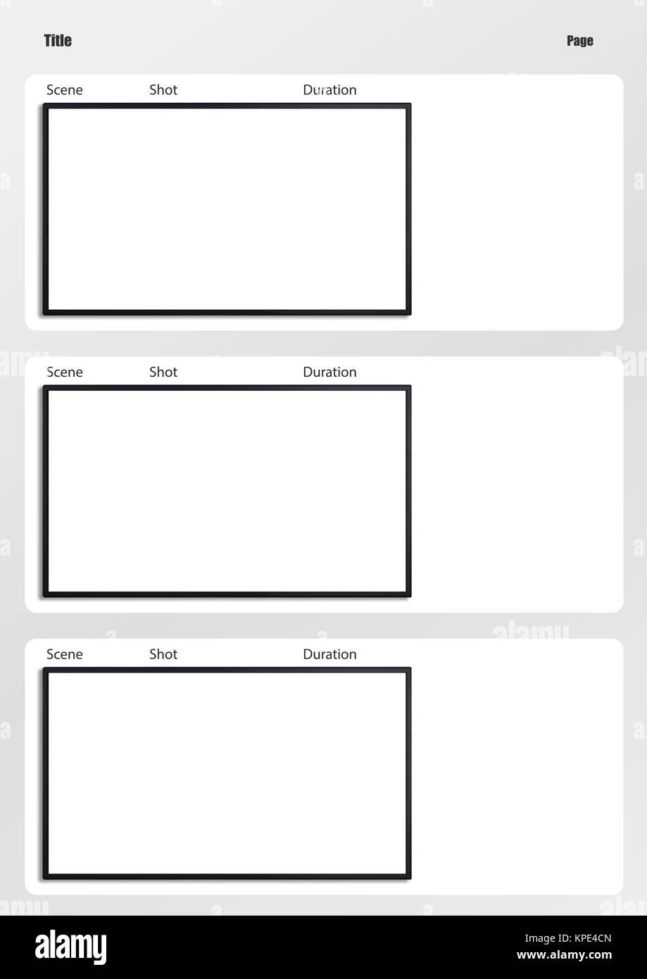 Ungewöhnlich Druckbare Storyboard Vorlagen Bilder - Entry Level ...