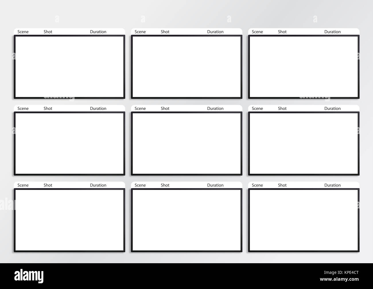 Storyboard Layout Stock Photos Storyboard Layout Stock Images Alamy