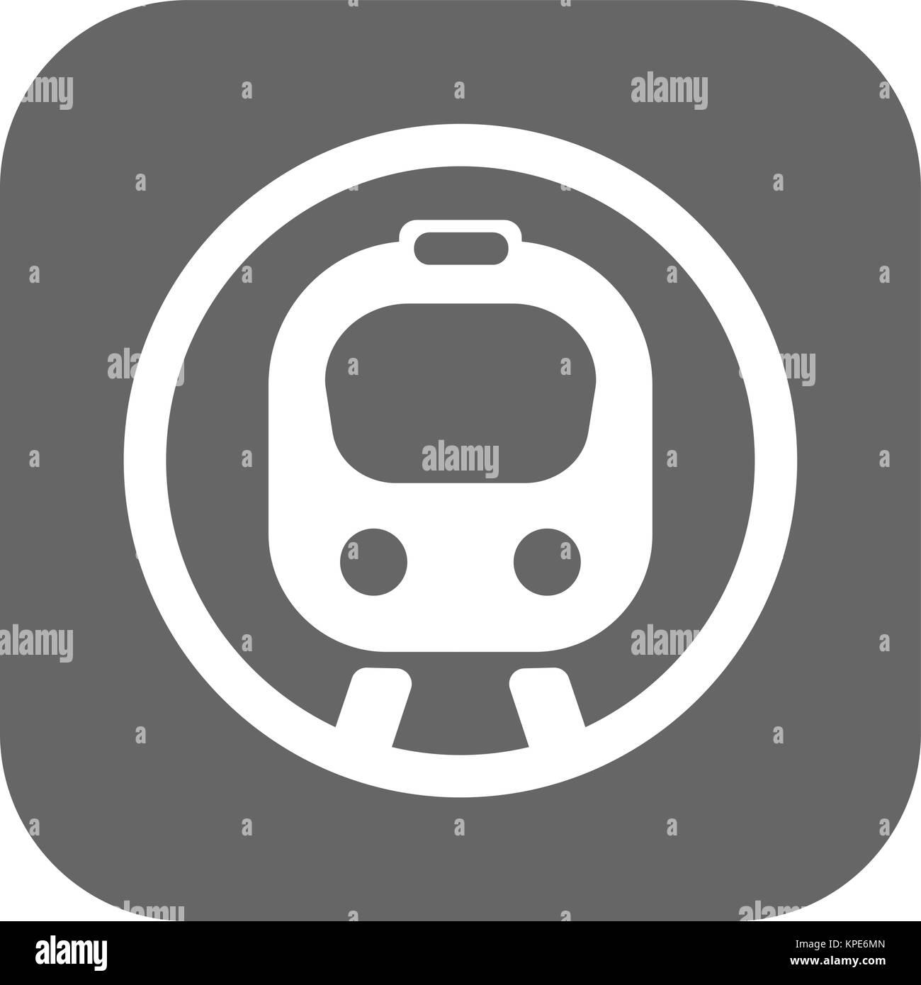Flat speed train - Stock Vector
