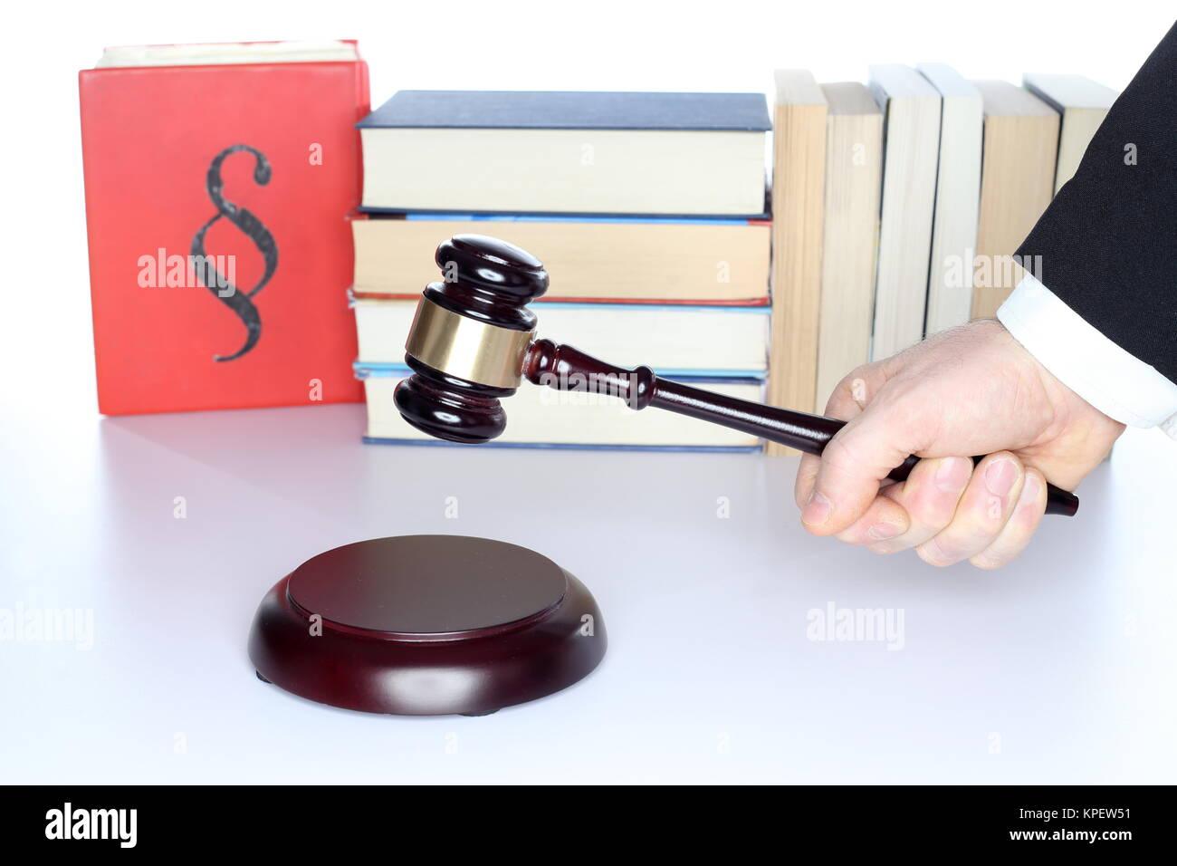 legal decision Stock Photo