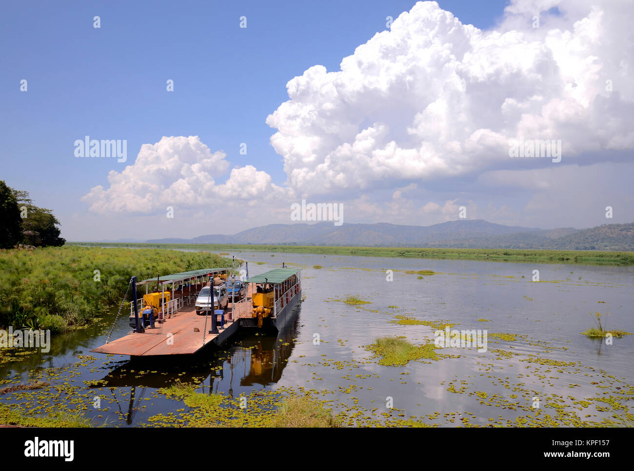 """Uganda is called """"The pearl of Africa"""" because of its beautiful landscapes, friendly people, and abundance of rain. Stock Photo"""