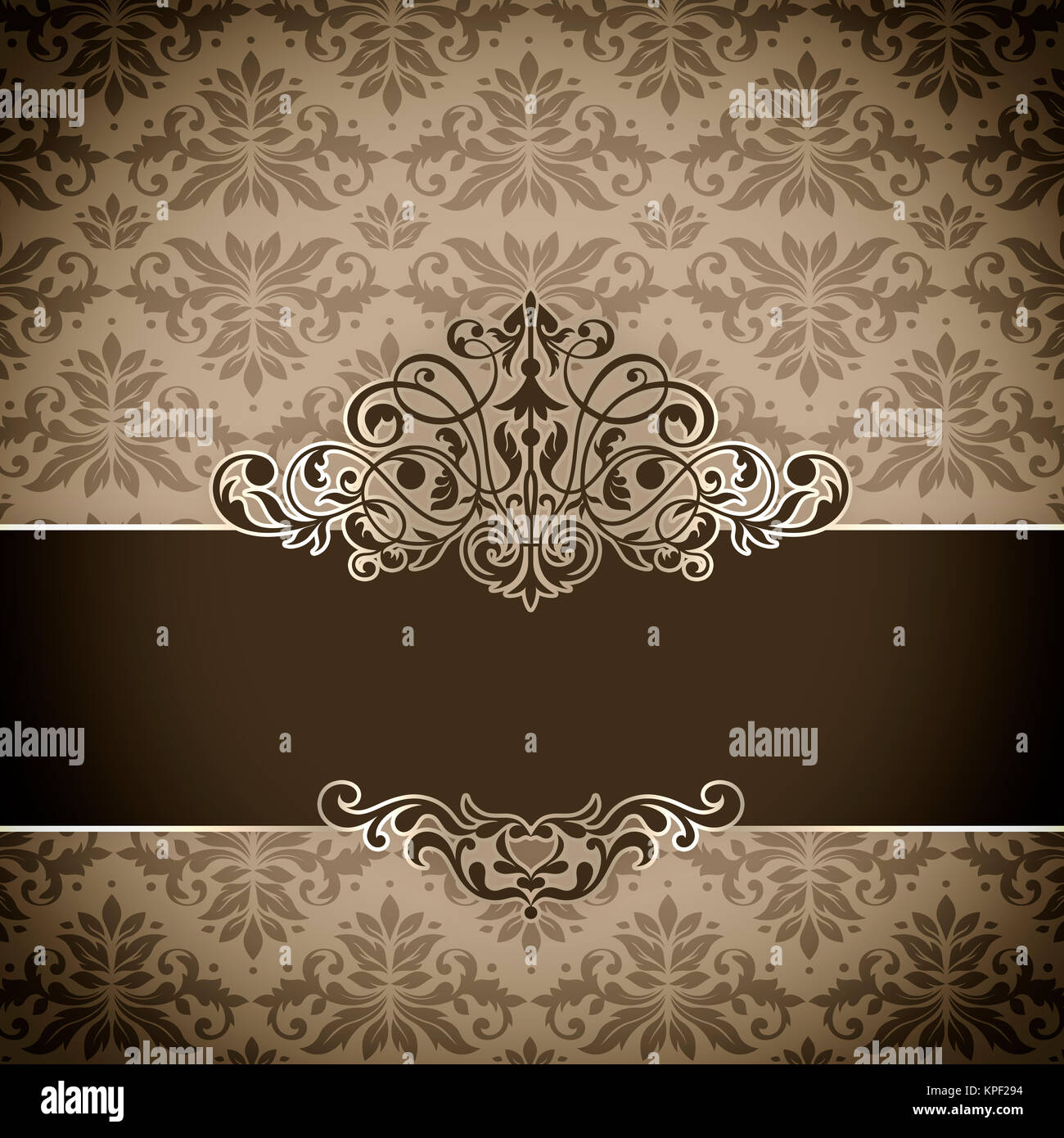 Decorative vintage background with old,fashioned patterns