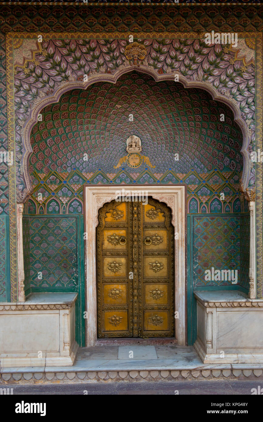 City Palace Complex in  Jaipur - Stock Image