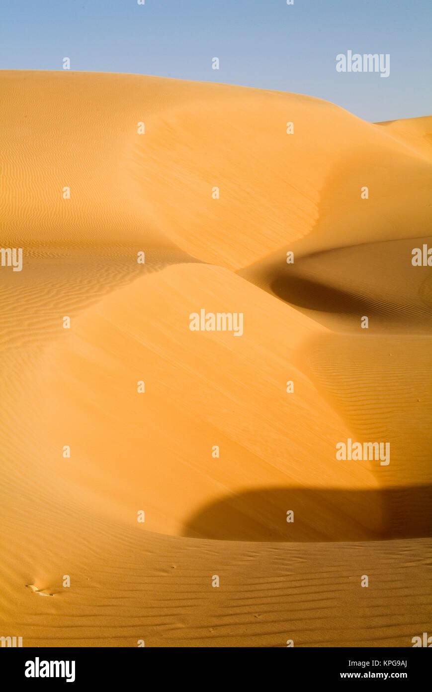 Mauritania, Adrar, Amatlich, Dunes - Stock Image