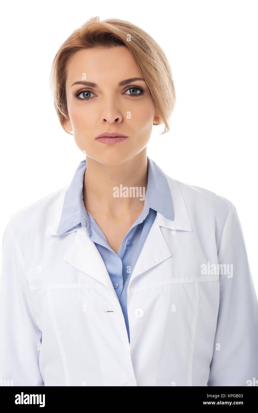 young female doctor - Stock Image