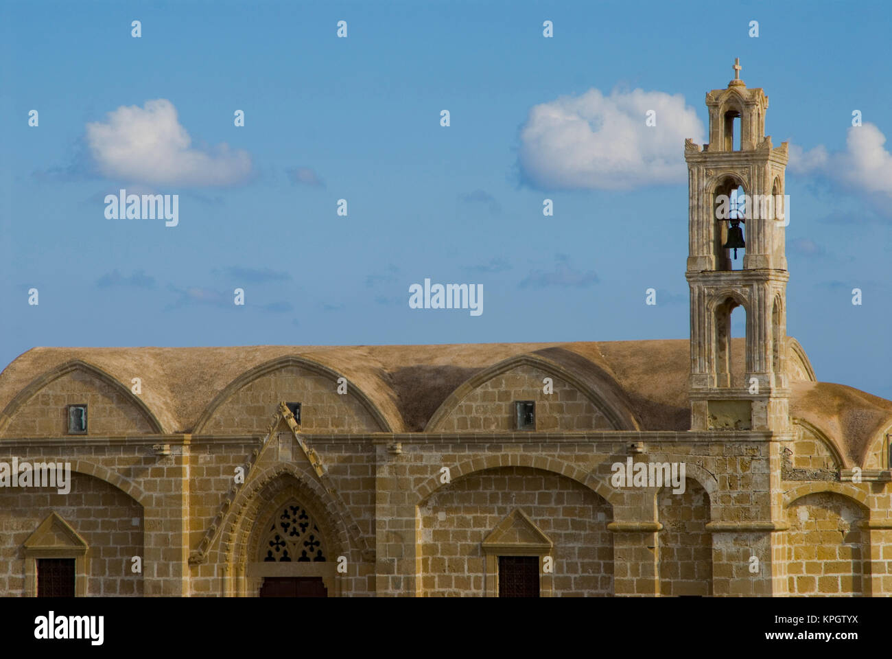 Cyprus, Karpas peninsula, Ayios Thyrsos church Stock Photo