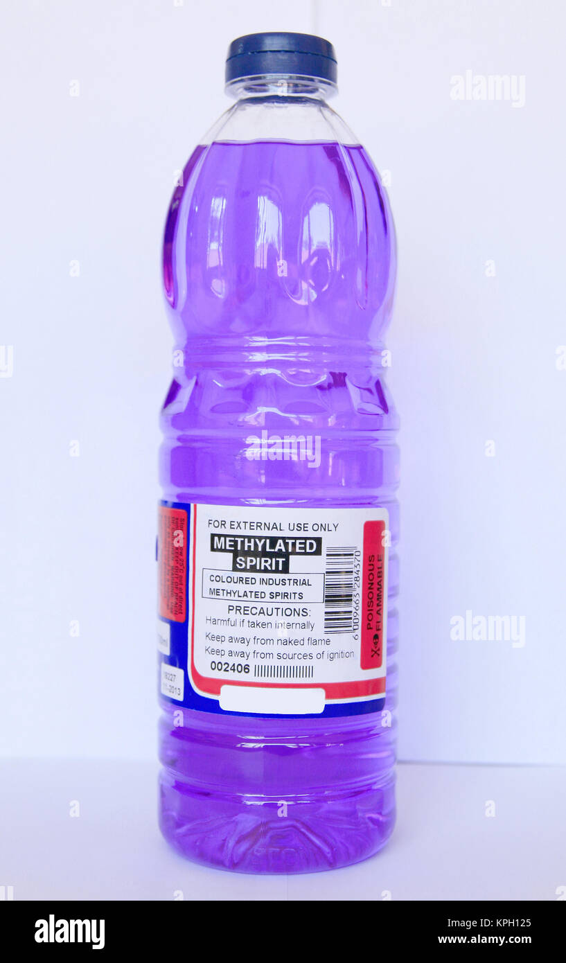 Methylated Spirits Stock Photos & Methylated Spirits Stock