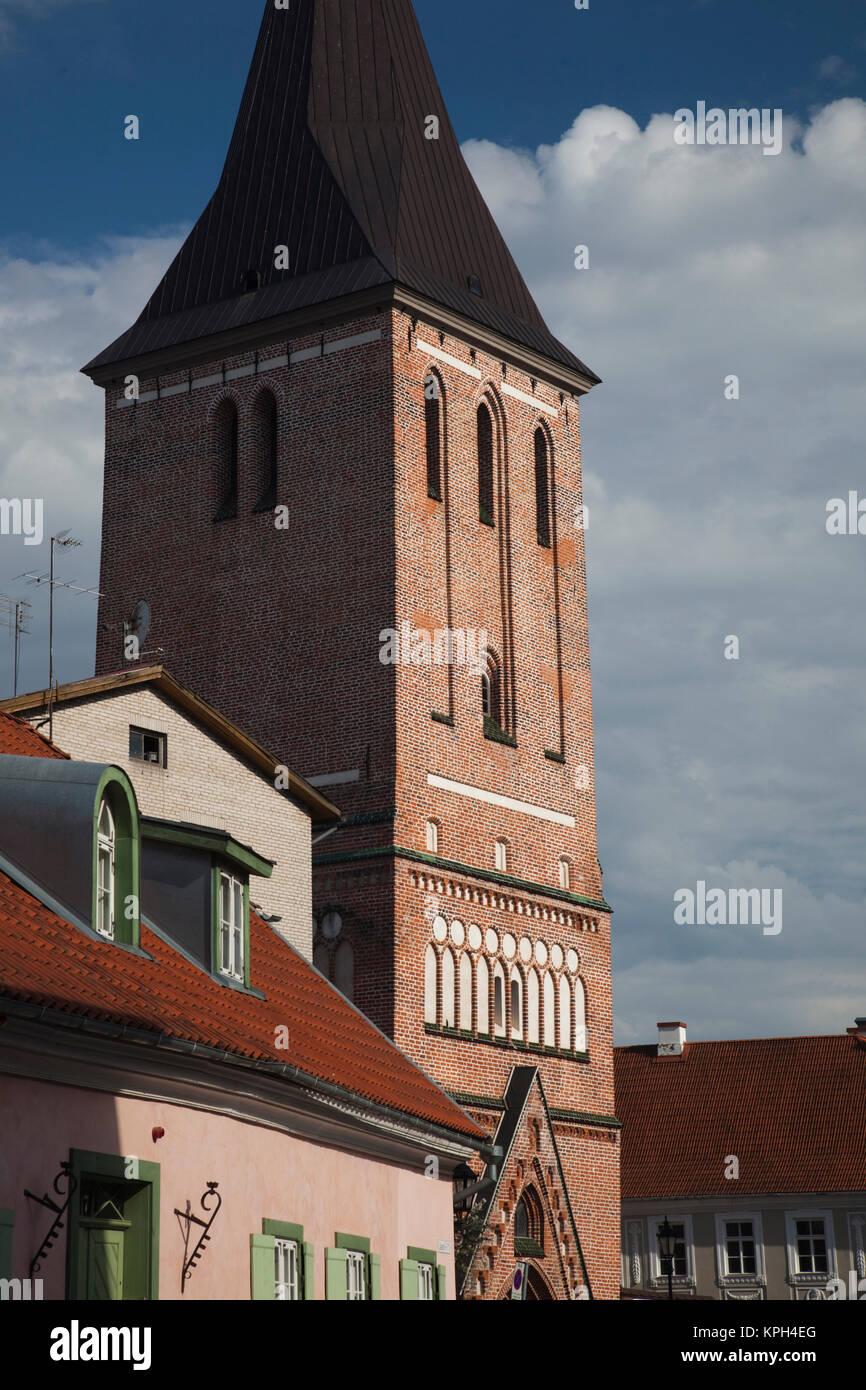 Estonia, Southeastern Estonia, Tartu, St. John's Church - Stock Image