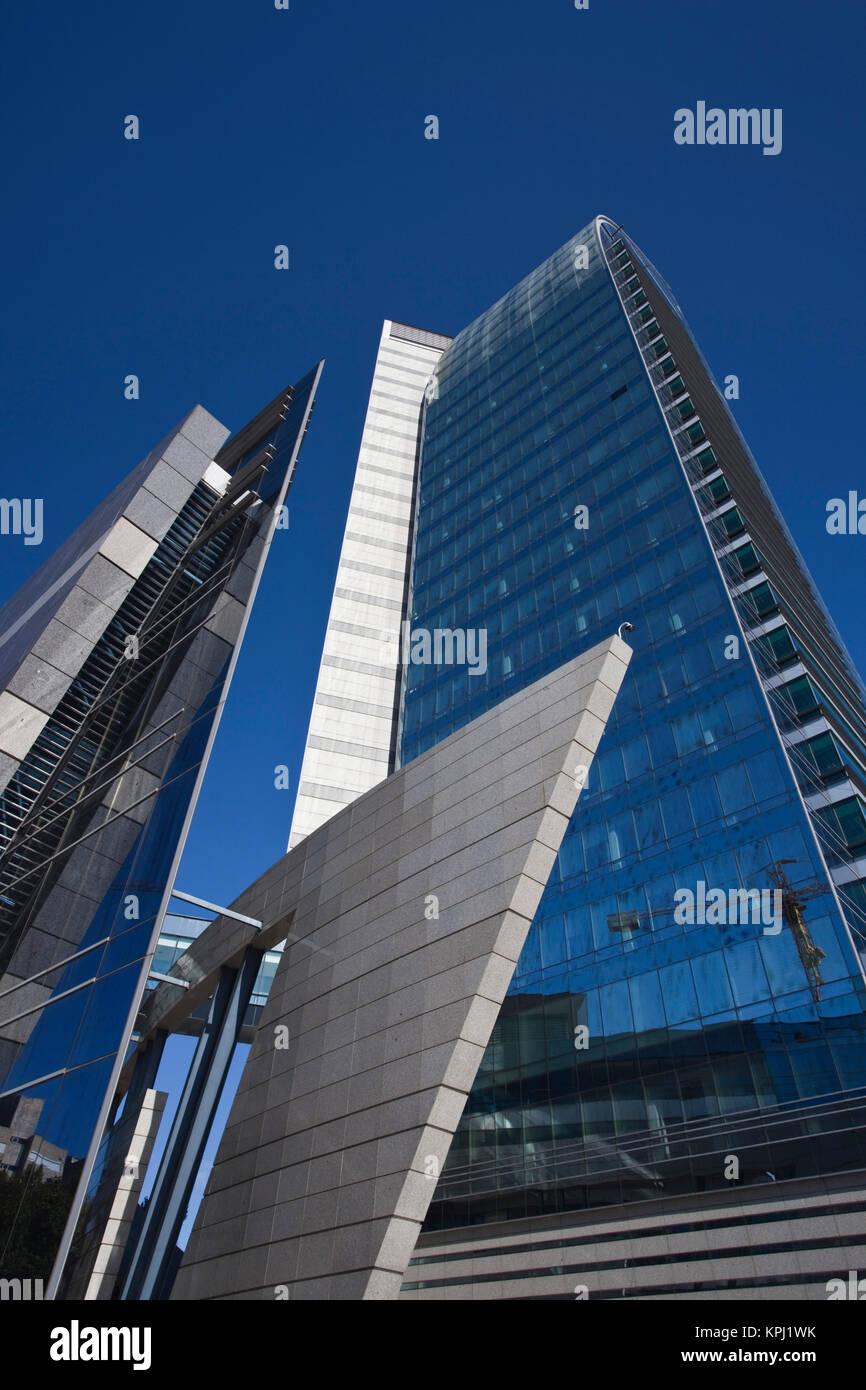 Uruguay, Montevideo Department, Montevideo. Torre Antel tower. Stock Photo