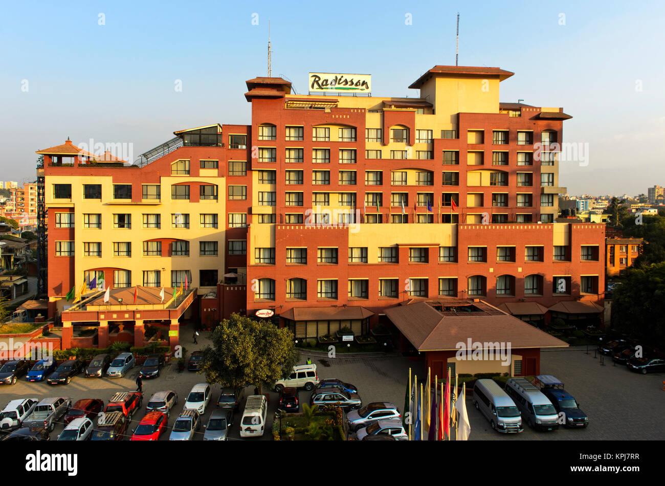 Hotel Radisson, Kathmandu, Nepal - Stock Image