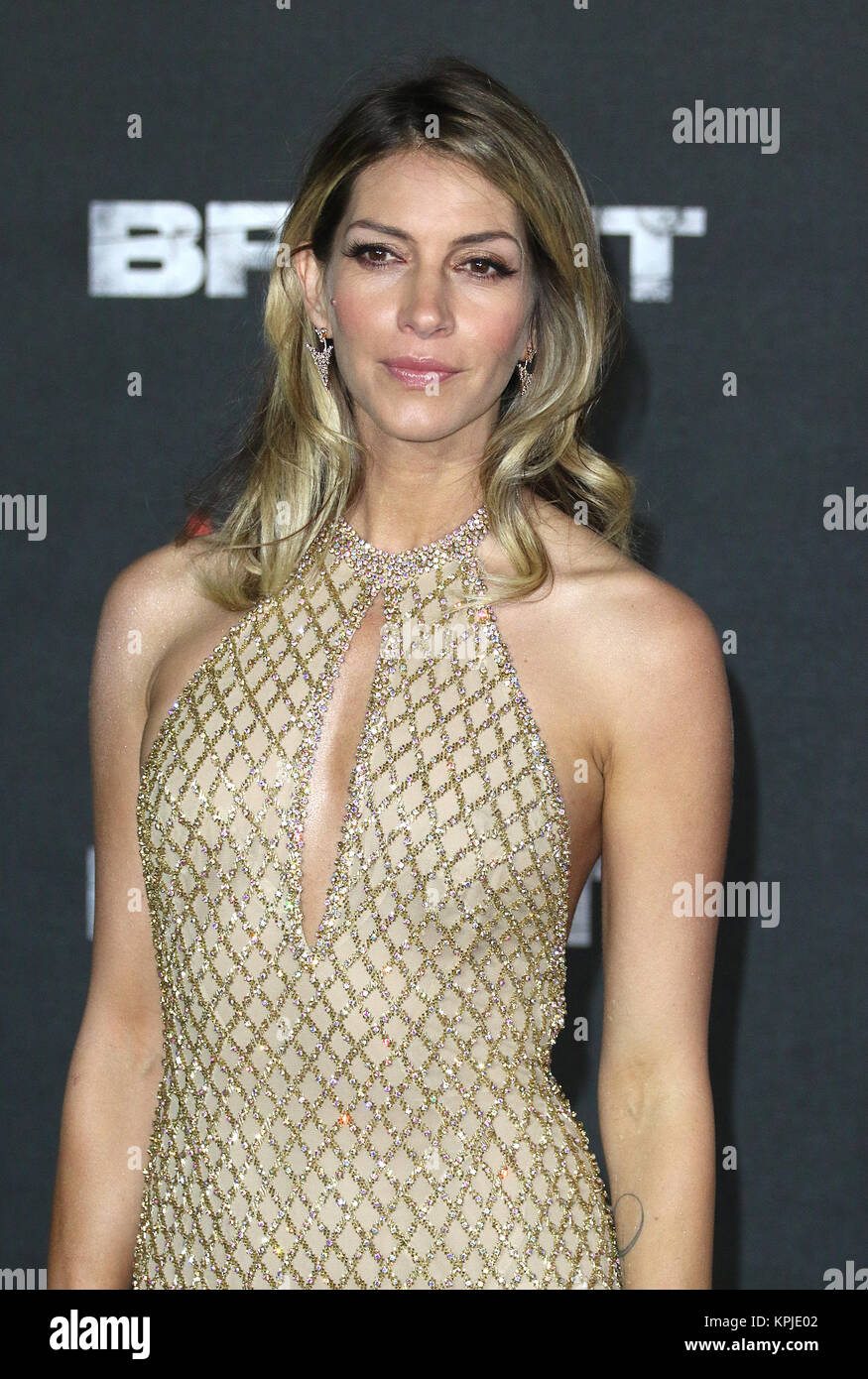 London, UK. 15th December, 2017. Dawn Olivieri, Bright - European Premiere, BFI Southbank, London UK, 15 December - Stock Image