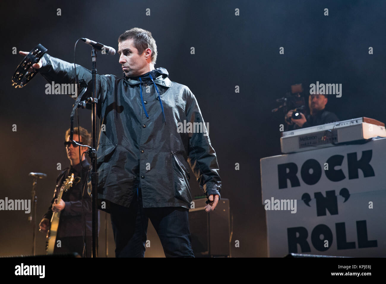 Brighton, UK. 15th Dec, 2017. Liam Gallagher performing his As You Were tour at The Brighton Centre, England. Credit: - Stock Image
