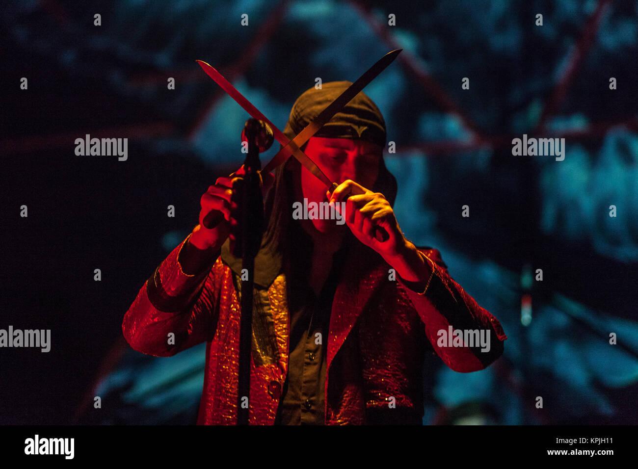 Zagreb, Croatia. 15th December, 2017. Laibach, Tvornica Kulture, Zagreb – photo: Deyan Baric – Credit: Deyan Baric/Alamy - Stock Image