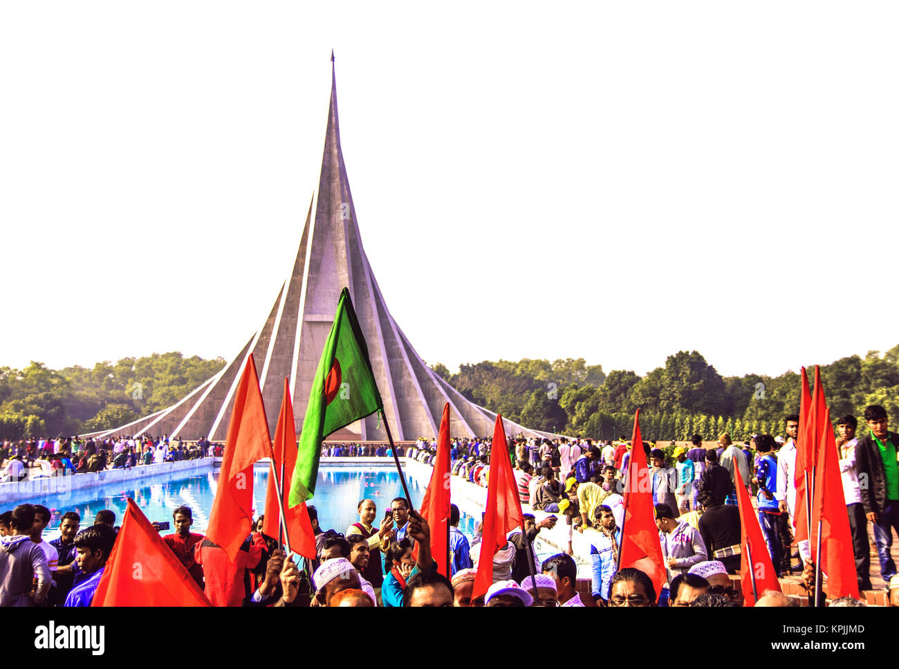 Victory Day Celebrations in Bangladesh - Stock Image