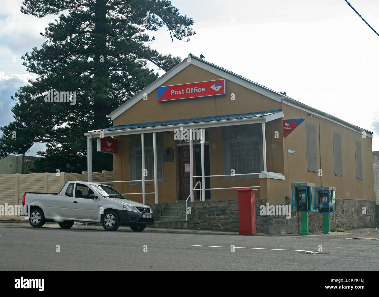 Local Post Office, East London, Eastern Cape, South Africa. - Stock Image
