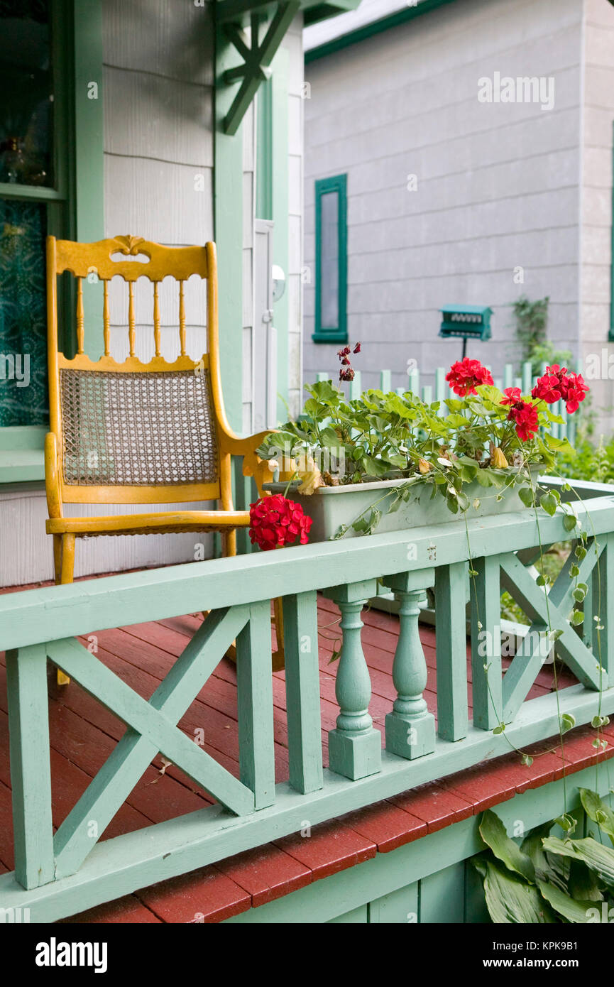 Awe Inspiring Porch Rocking Chair Stock Photos Porch Rocking Chair Stock Caraccident5 Cool Chair Designs And Ideas Caraccident5Info