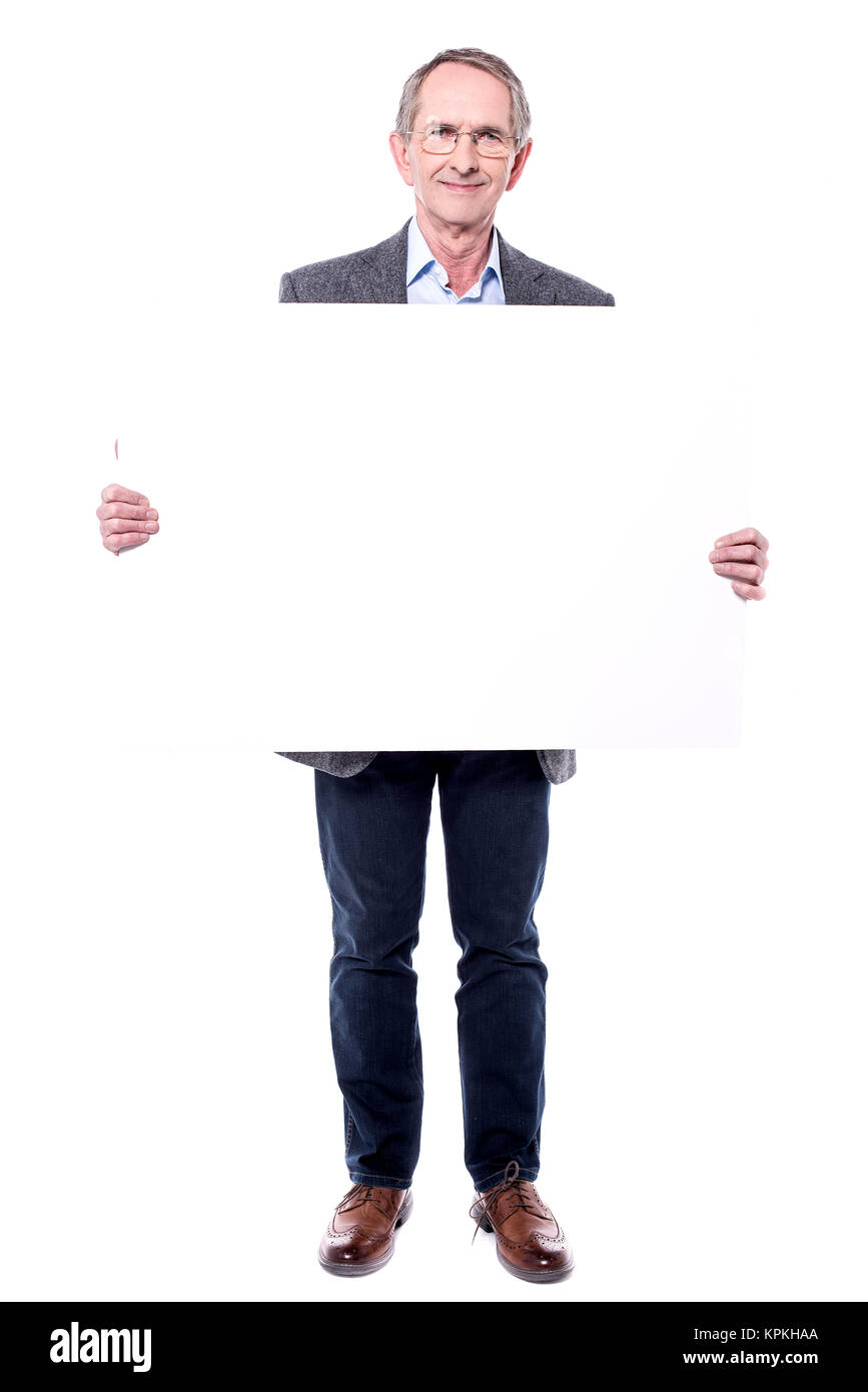 This is new ad board! - Stock Image