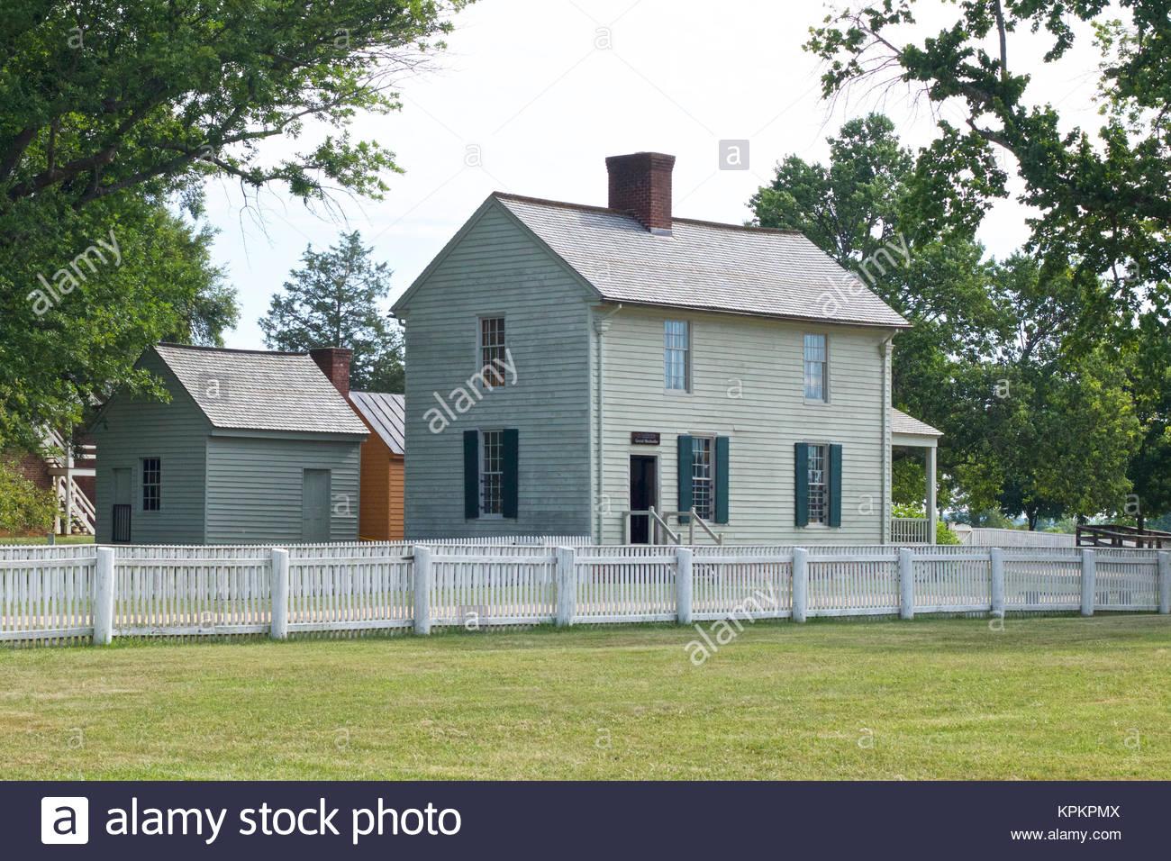 Appomattox Court House National Historical Park - Stock Image