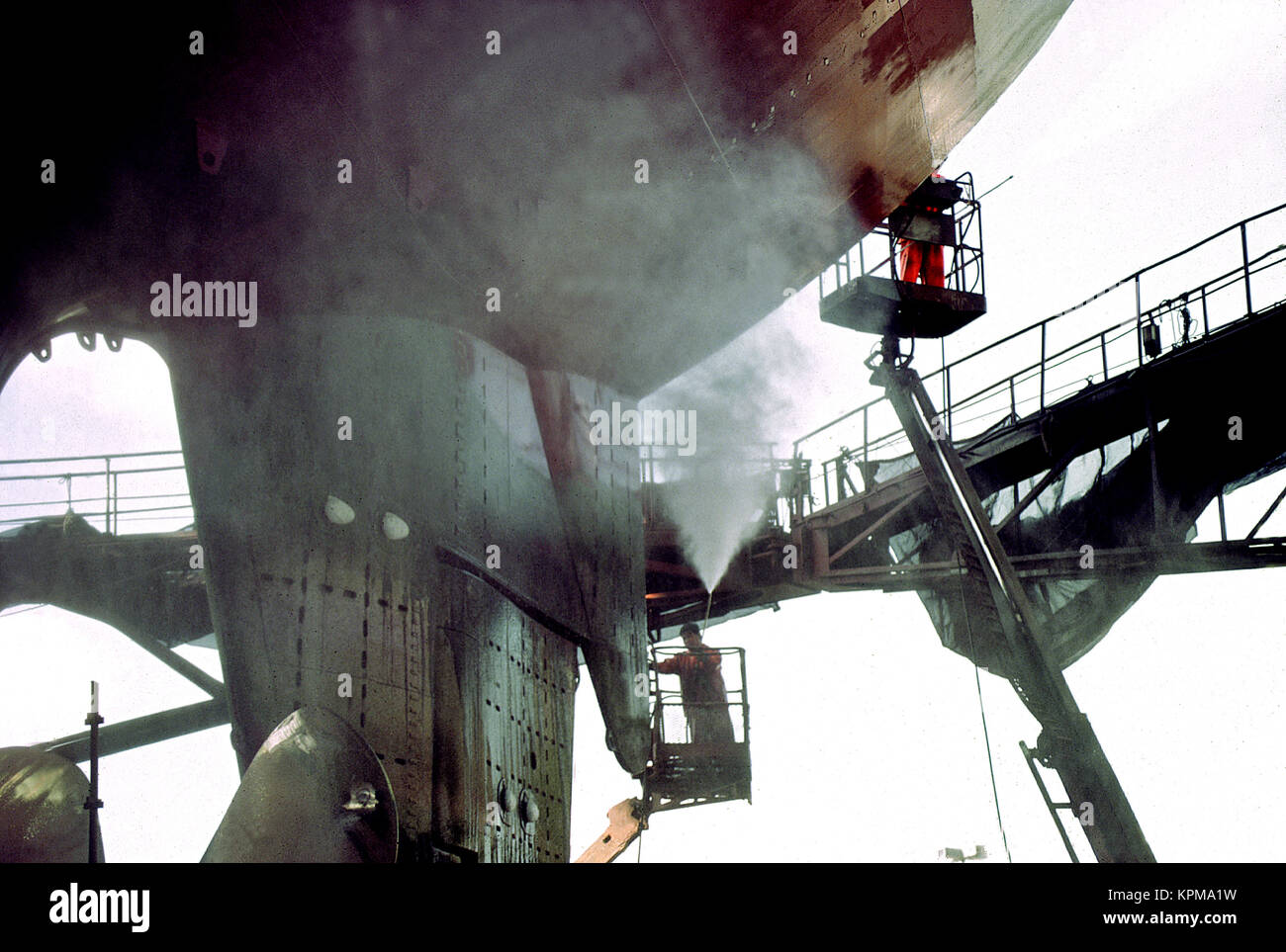 Hamburg, one of the most beautiful and most popular tourist destinations in the world.Sietas Shipyard. - Stock Image