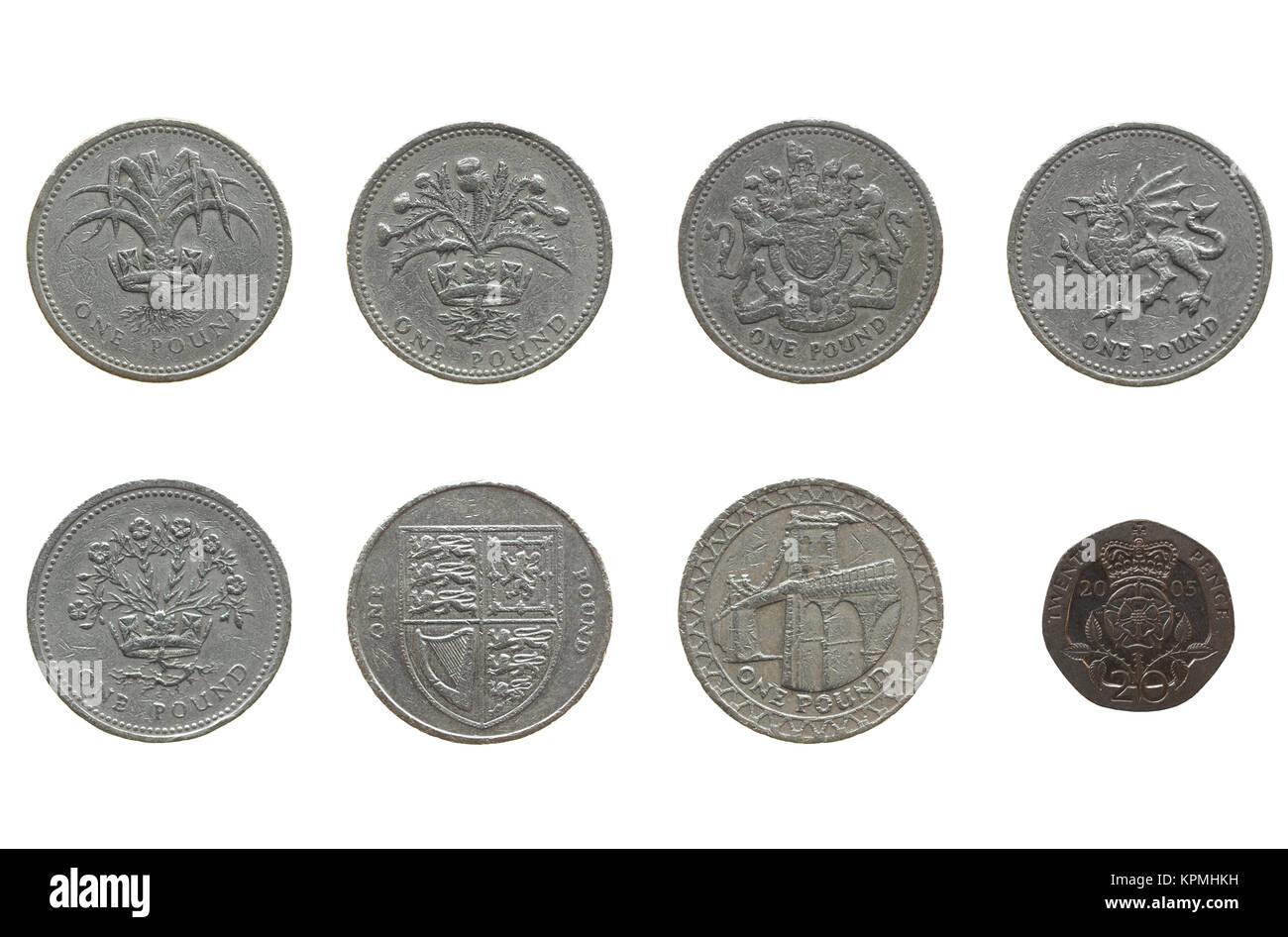New UK national living wage 7.20 GBP - Stock Image