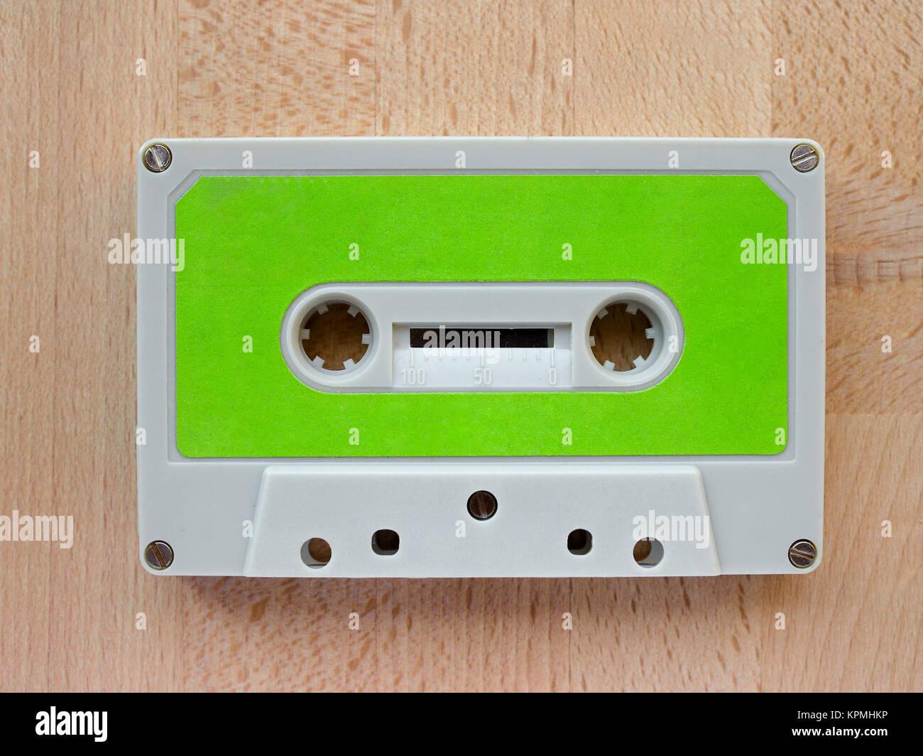 Tape cassette - Stock Image
