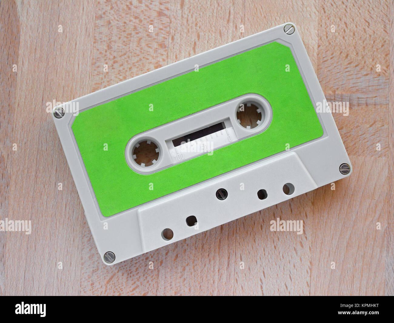 Tape cassette Stock Photo