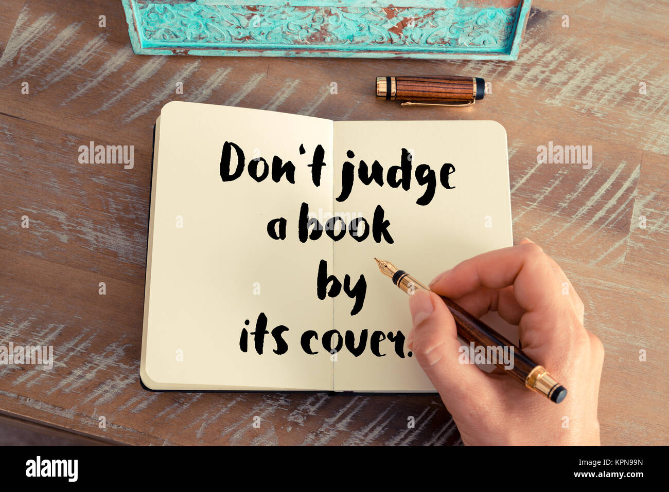 Dont Judge A Book By Its Cover Stock Photos & Dont Judge A ...