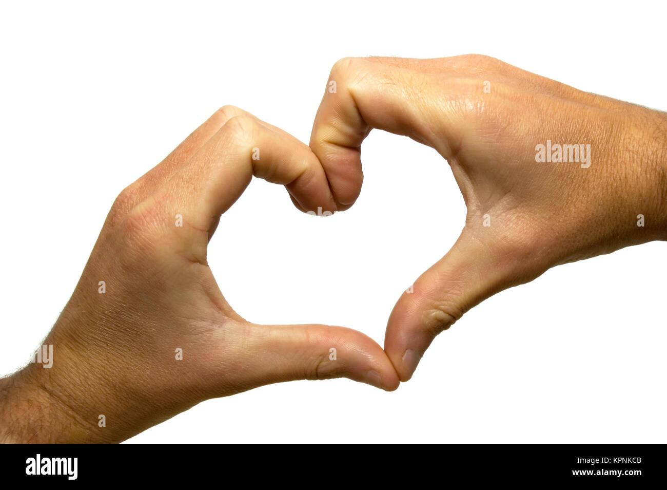 Heart Shaped Hands Stock Photo: 168891979 - Alamy