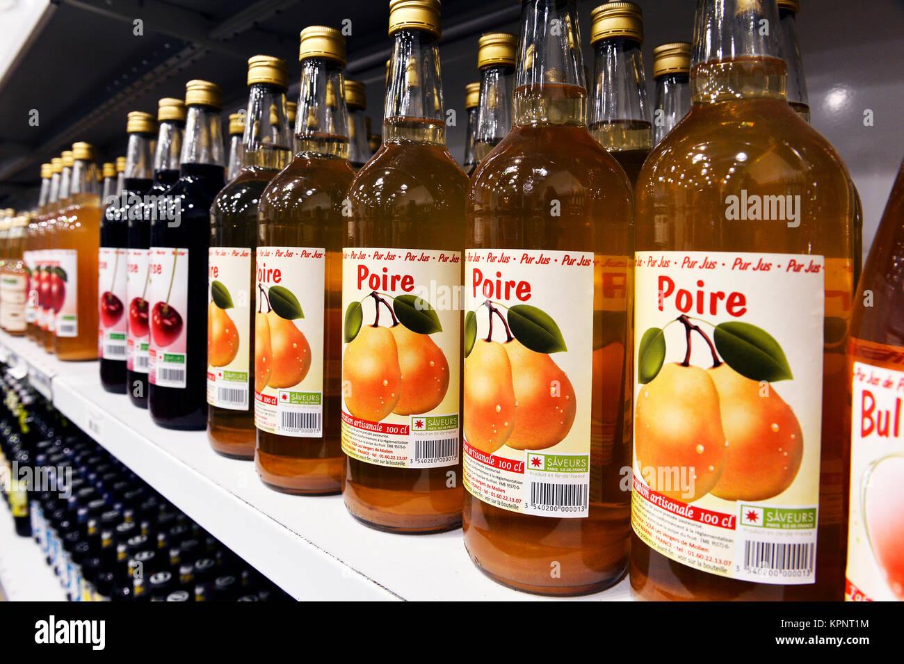 Ile de France région products, Rungis - France - Stock Image