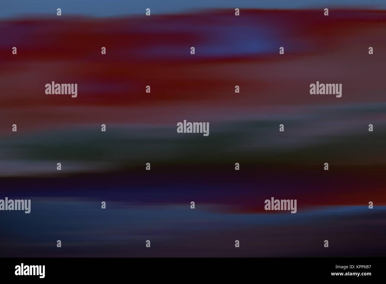 clouds impressionistic - Stock Image