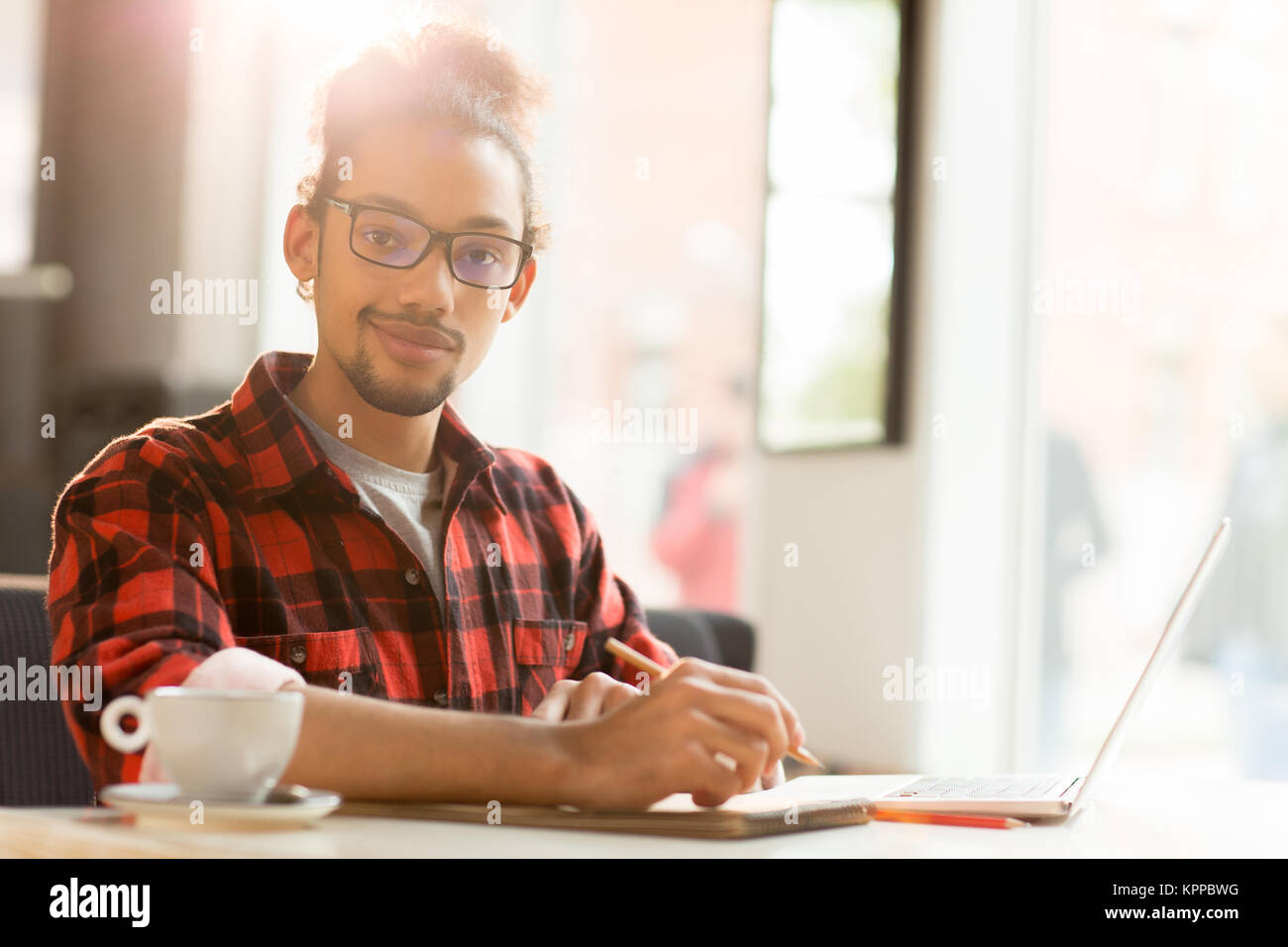 Young businessman - Stock Image