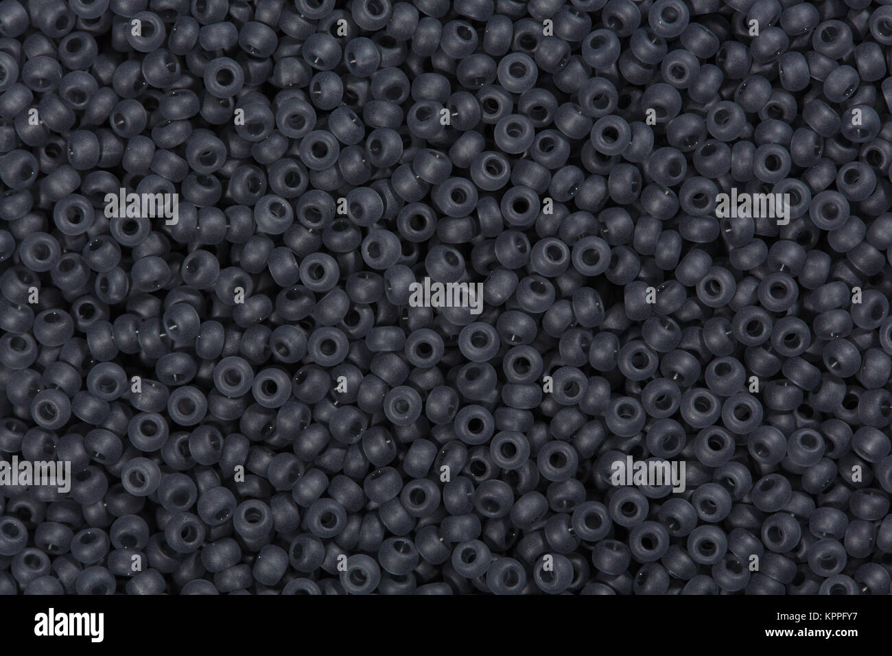 Glass seed beads background. - Stock Image
