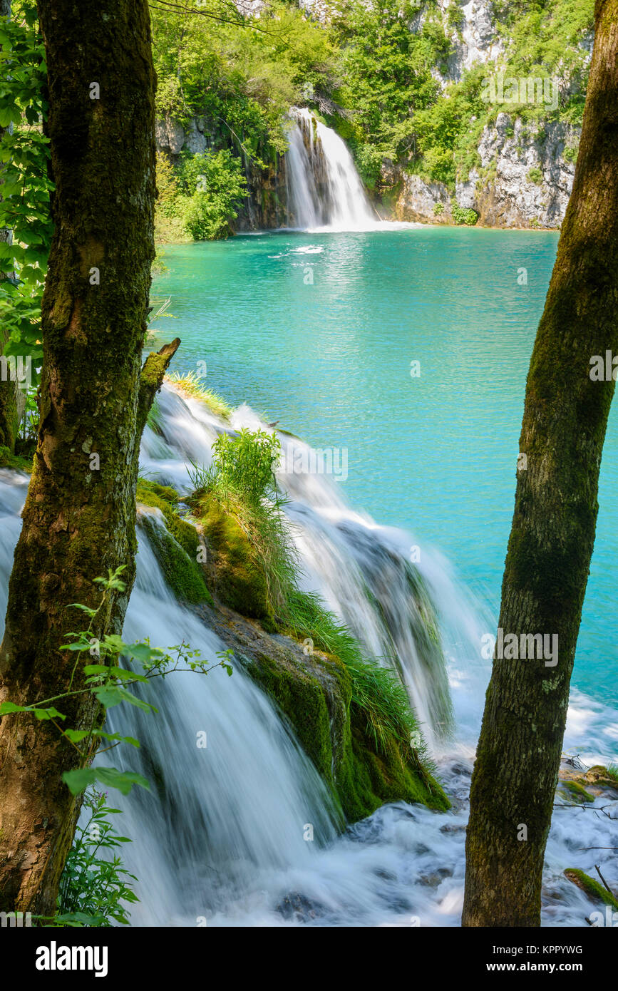 Plitvice Lakes National Park, Croatia - Stock Image