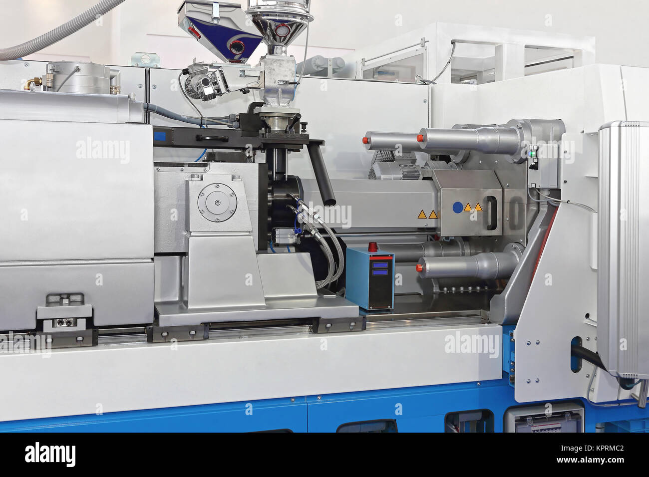 Injection Molding Machine - Stock Image
