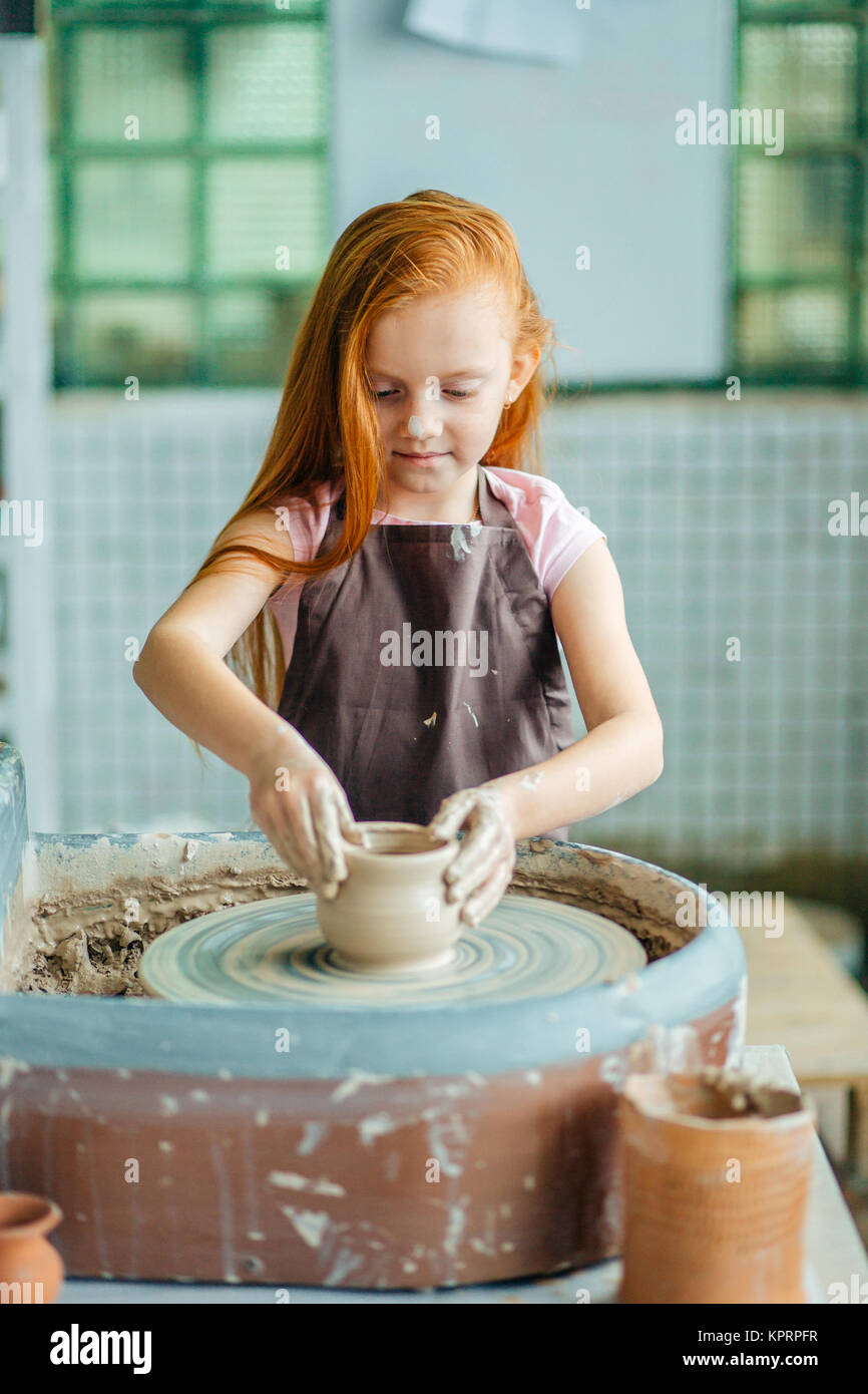 Redhead production pottery