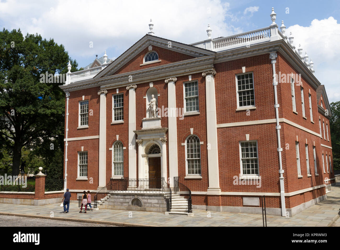 Library Hall, part of Independence National Historical Park, Philadelphia, Pennsylvania, United States. - Stock Image