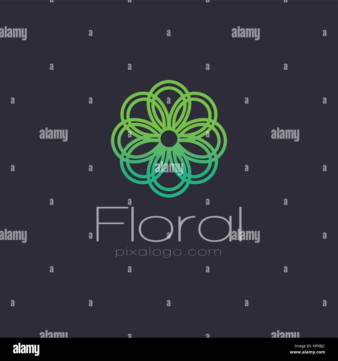 Logo design template of all industries. Check My Portfolio to find all of them. - Stock Vector