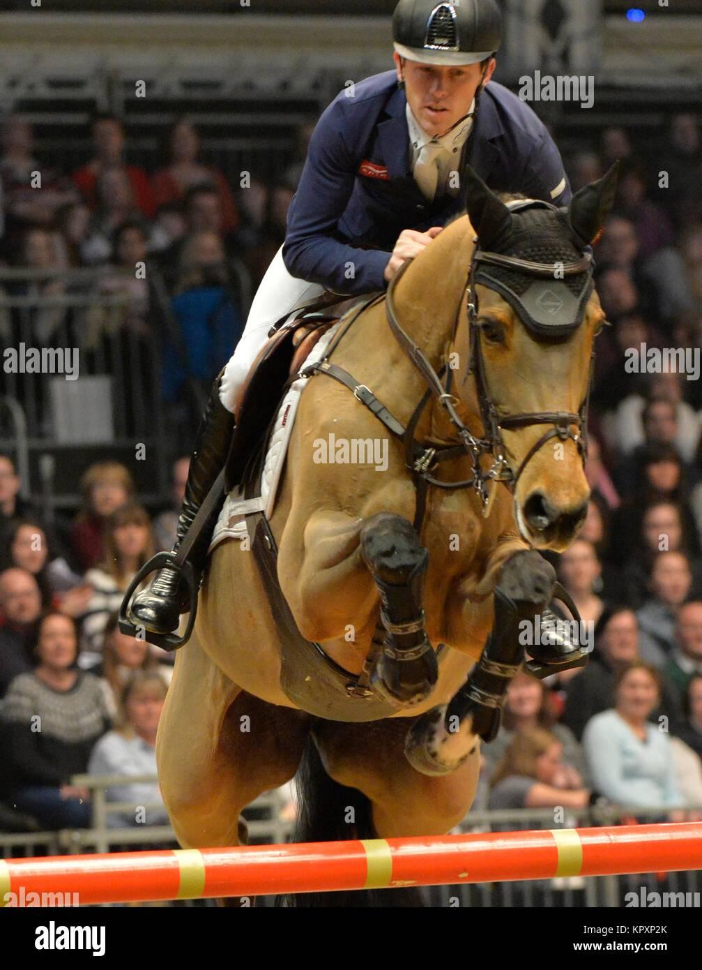 London, UK. 17th Dec, 2017.  London Olympia International Horse Show The Longines FEI World Cup London Scott Brash Stock Photo
