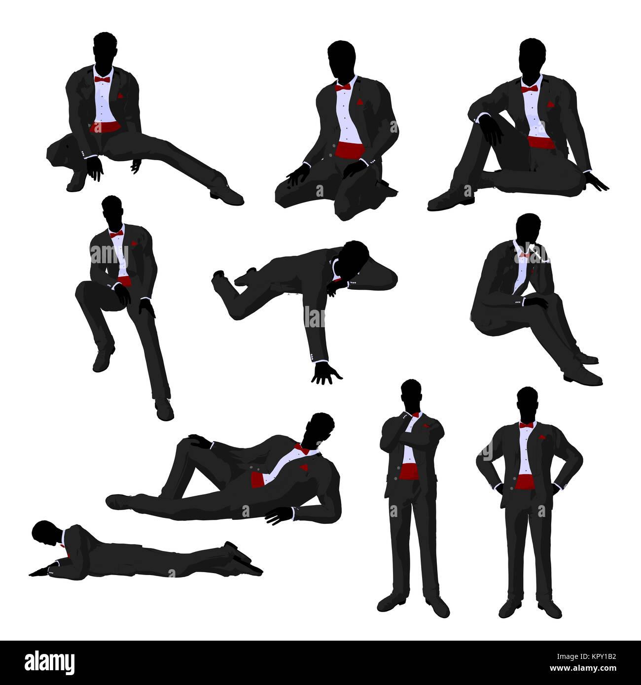 James Bond Silhouette Stock Photos & James Bond Silhouette