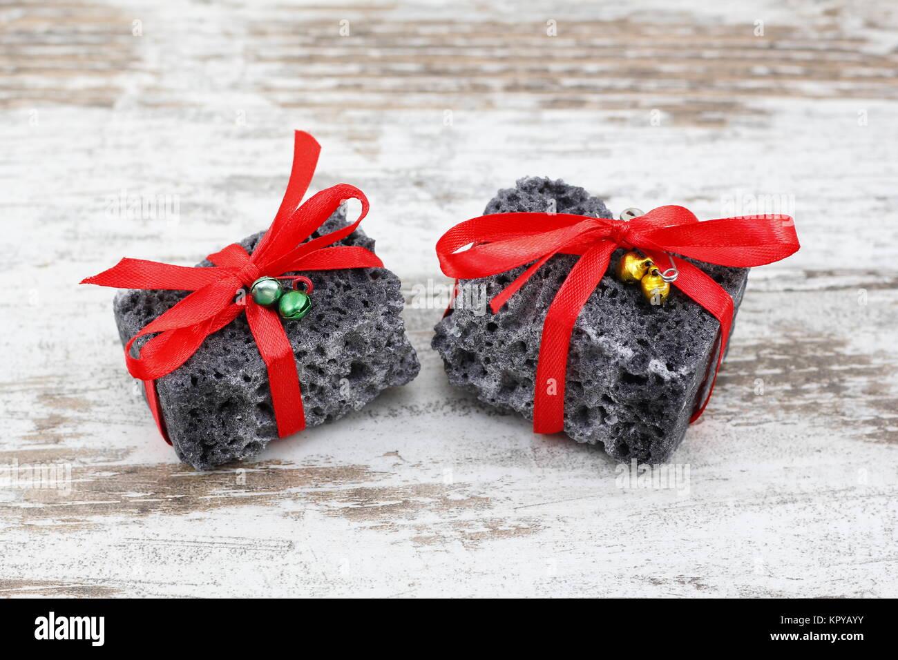 Coal Christmas Present Stock Photos & Coal Christmas Present Stock ...