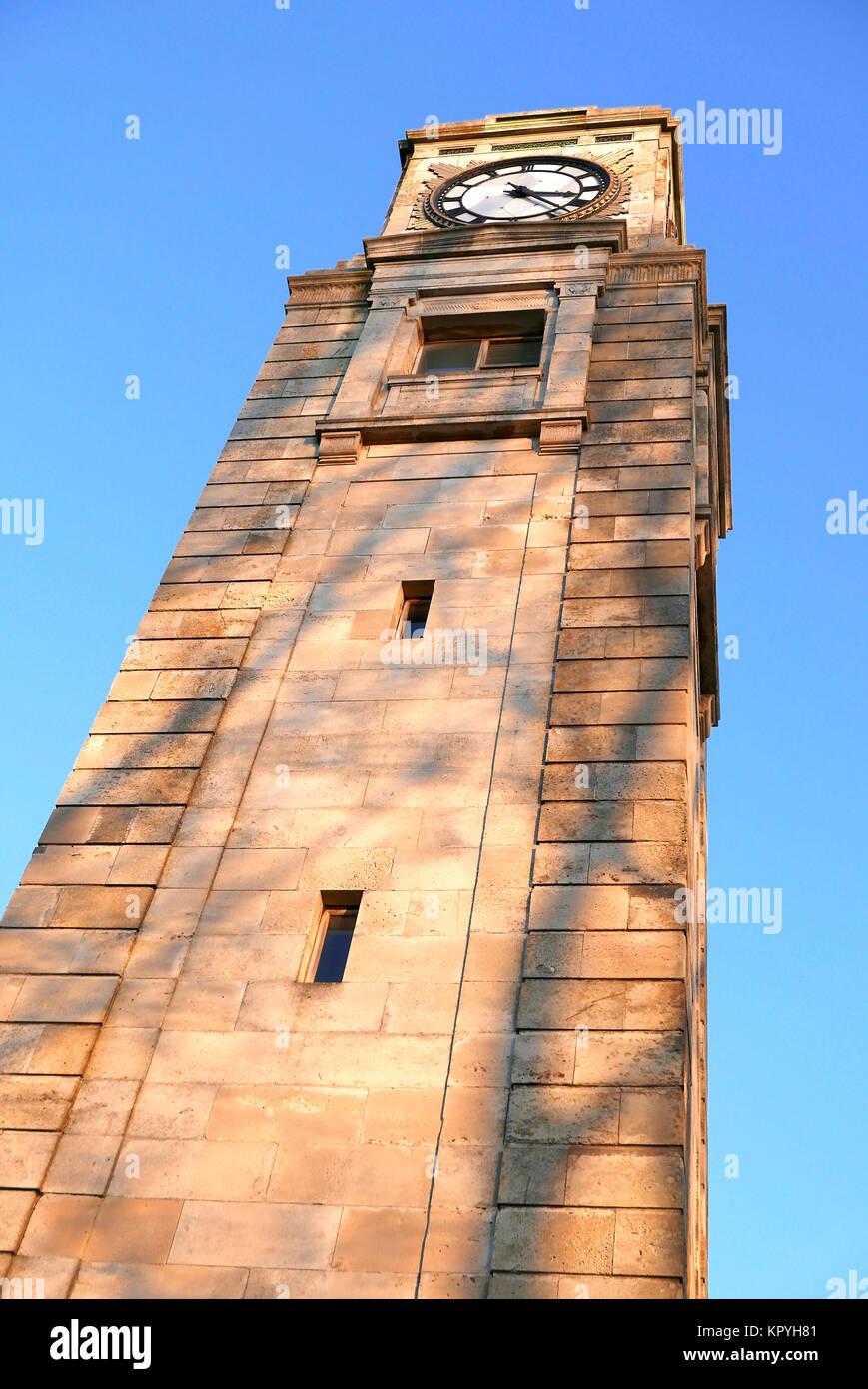 Cocker's clock tower in Stanley Park,Blackpool,Lancashie,UK Stock Photo