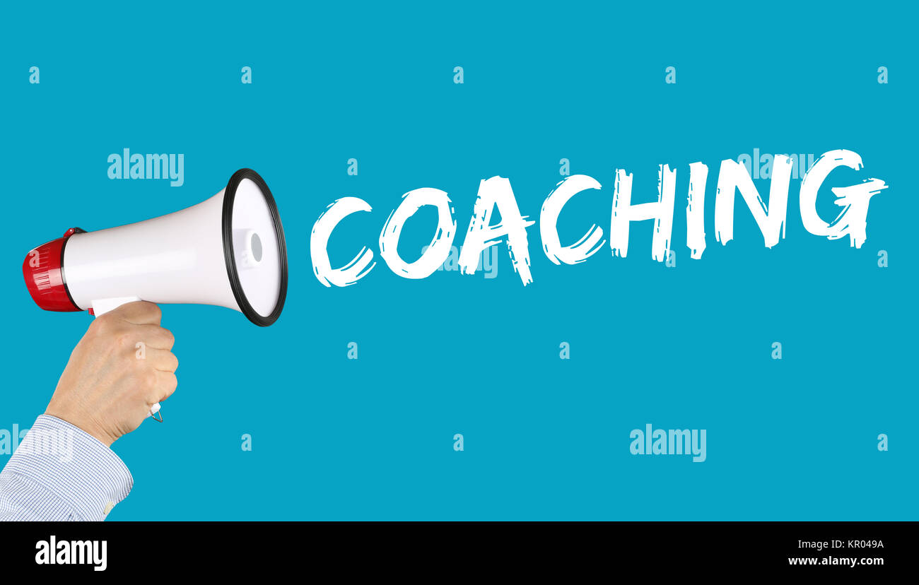 coaching consulting training staff training workshop education careers of megafon - Stock Image