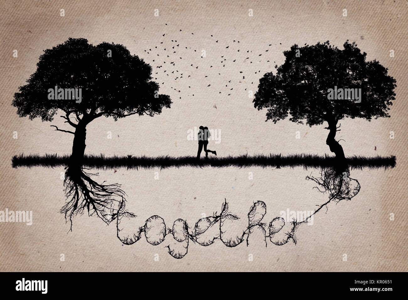 together 4 - Stock Image