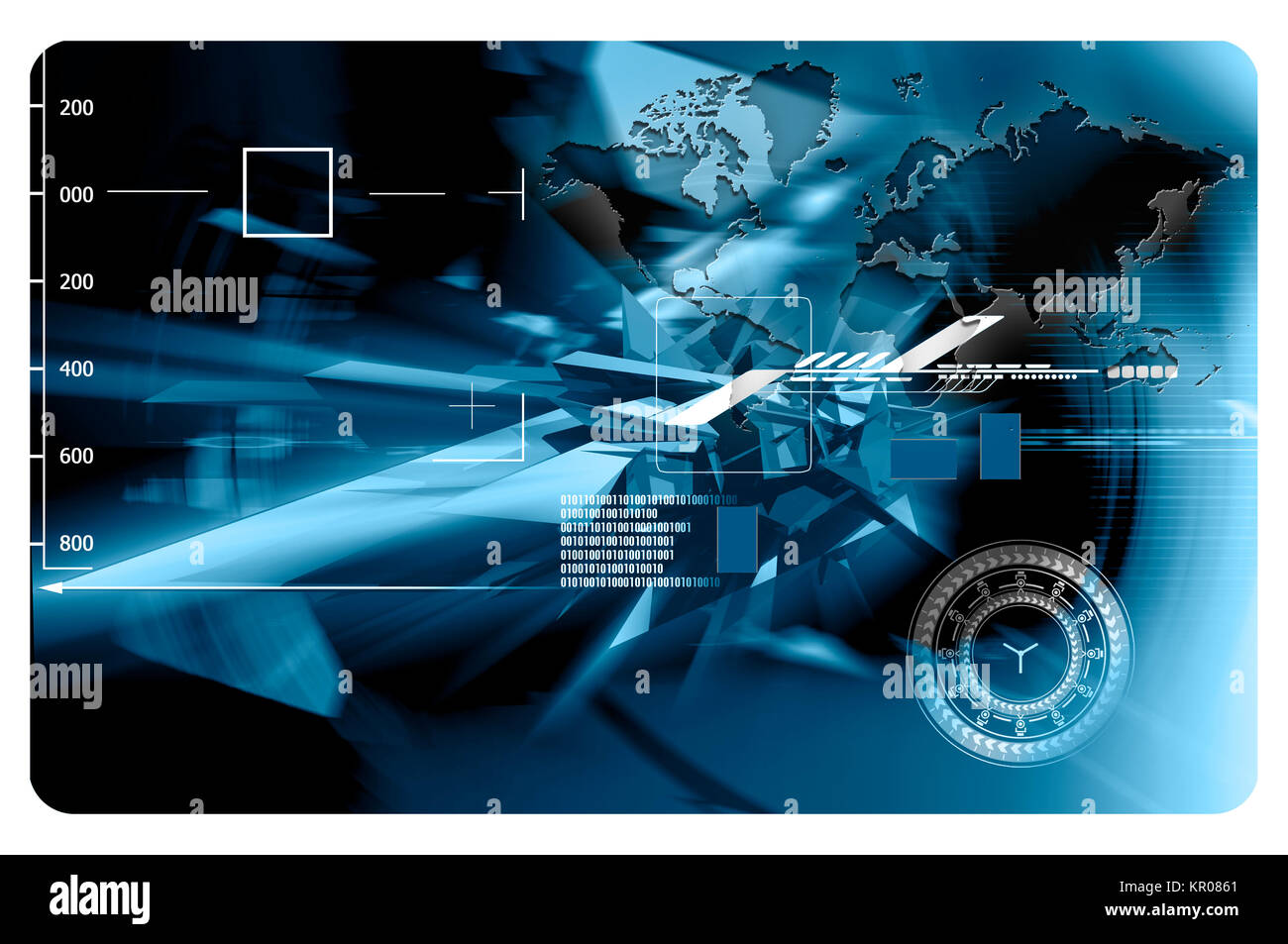 Futuristic Background With Abstract Elements For The Design Of Stock