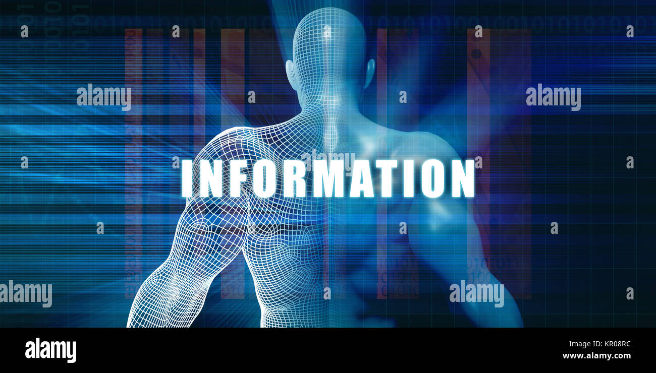 Information - Stock Image