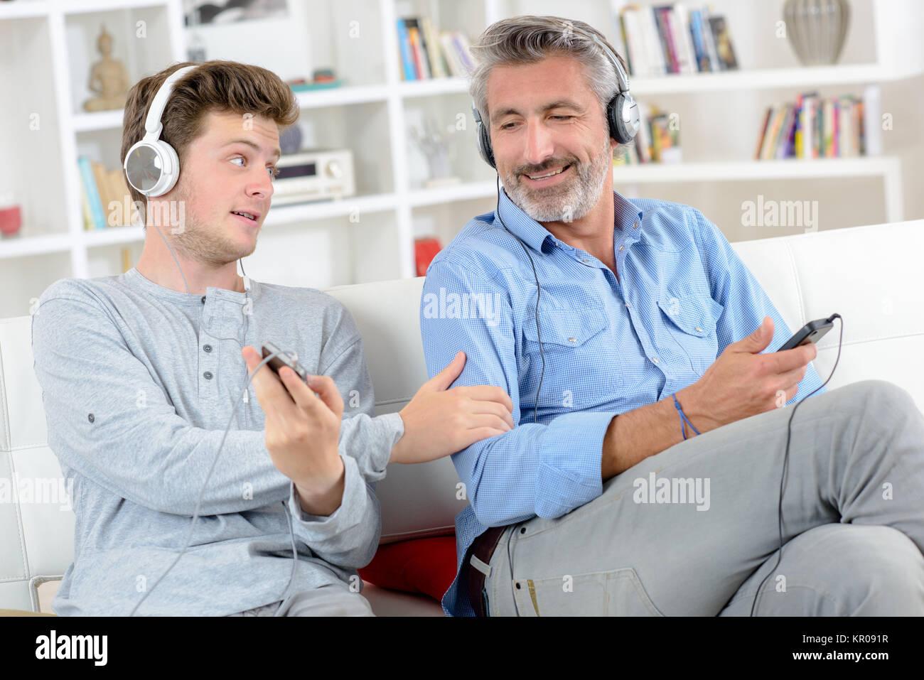 bonding moments - Stock Image