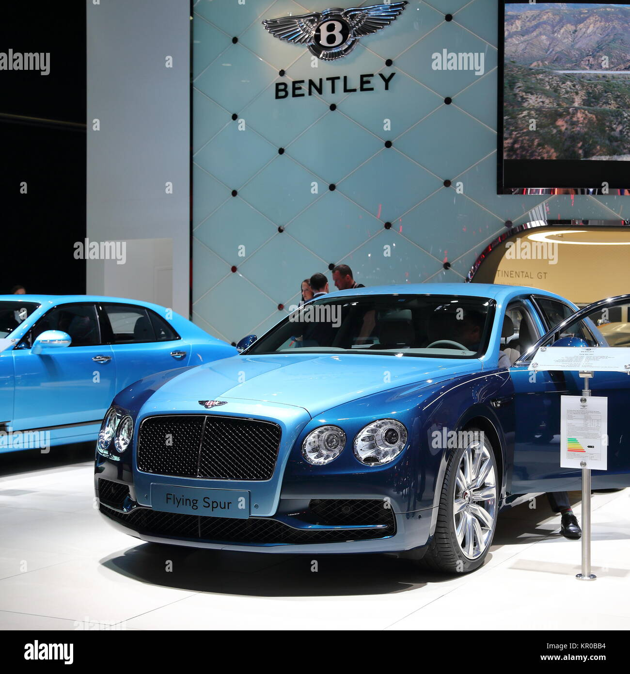 Bentley Motor Show Stock Photos & Bentley Motor Show Stock