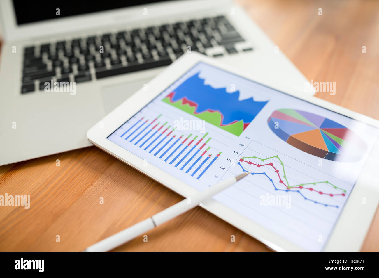Software development diagram showing design stock photos software tablet showing charts and diagram on screen stock image ccuart Image collections